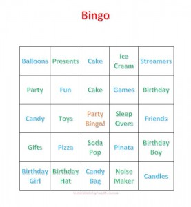 graphic regarding Printable Bingo for Kids titled Bingo For Children - Printable Playing cards And Directions